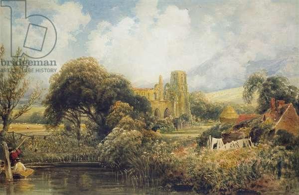 Llandaff, 1829 (w/c on paper)