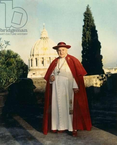 Portrait du Pape Jean XXIII (1958 - 1963). 24/07/1961 Photo felici © Farabola/ Leemage
