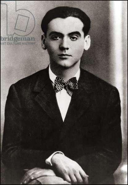 Portrait de Federico Garcia Lorca, années 1920