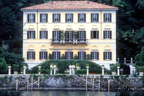 Villa de Gianni Versace sur le lac de Côme à Moltrasio. © Bianchi/Farabolafoto/Leemage