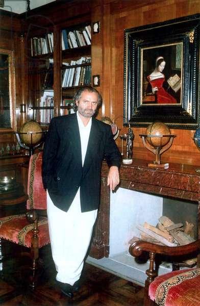 Gianni Versace en 1990.