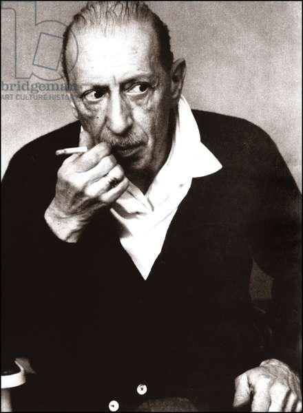 Portrait de Igor Stravinsky