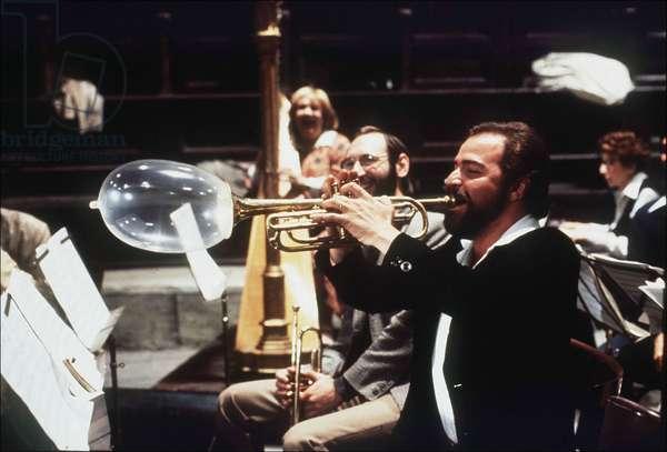 "Film """"Prova D'orchestra""""  (Les repetitions d'orchestre) de Federico FELLINI, 1979."