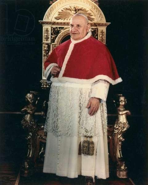 Portrait du Pape Jean XXIII (1958 - 1963). Photo felici © Farabola/ Leemage