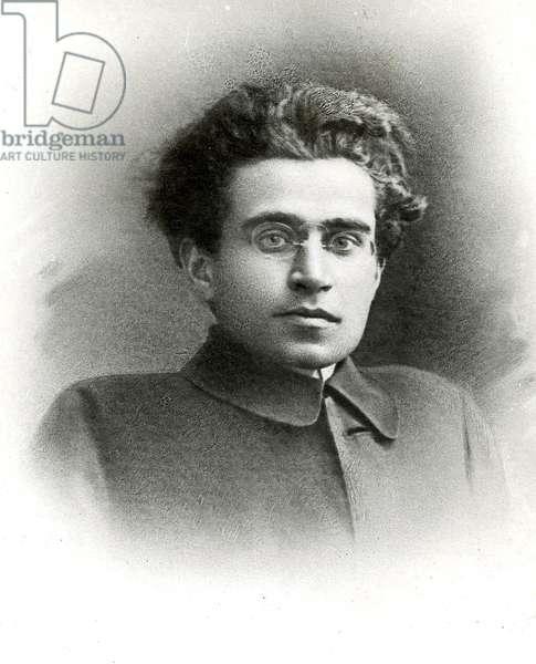 Antonio Gramsci (1891-1937), philosophe et homme politique italien. sd. 20eme siecle.
