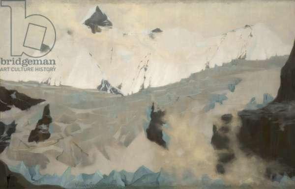 The White Mountain, 1888 (oil on canvas)