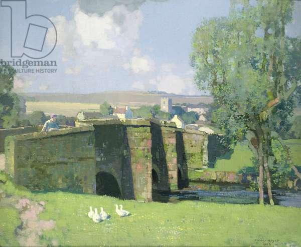 Derbyshire Landscape, 1926 (oil on canvas)