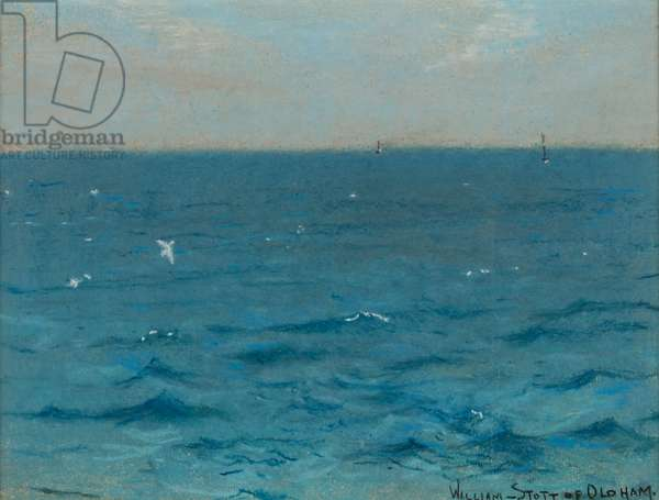 North Breeze, 1884 (pastel on paper)
