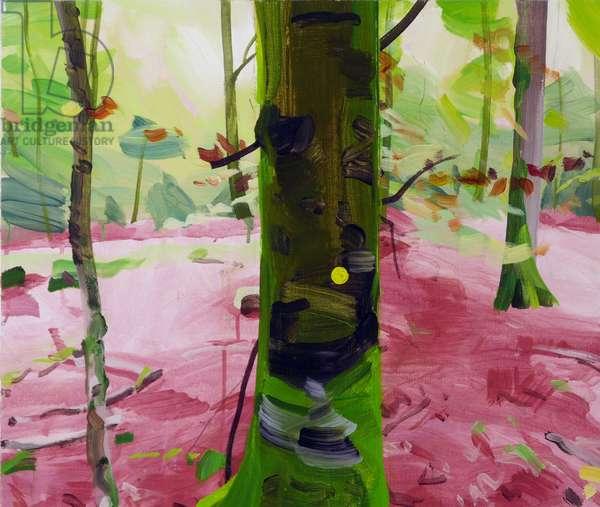 Forêt 18 ,2017 (acrylic on canvas)