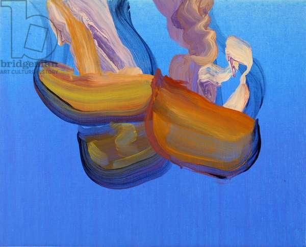 Méduses 6, 2013 (acrylic on canvas)