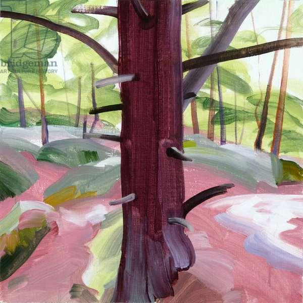 Forêt 39 ,2018 (acrylic on canvas)