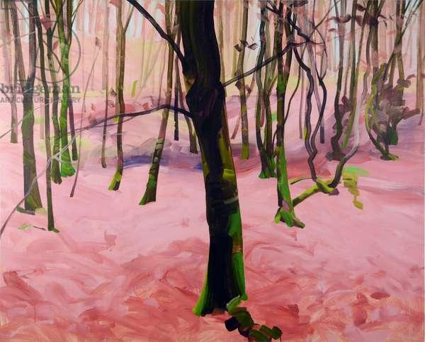 Forêt 29 ,2017 (acrylic on canvas)