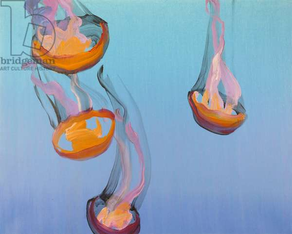 Méduses 13, 2013 (acrylic on canvas)