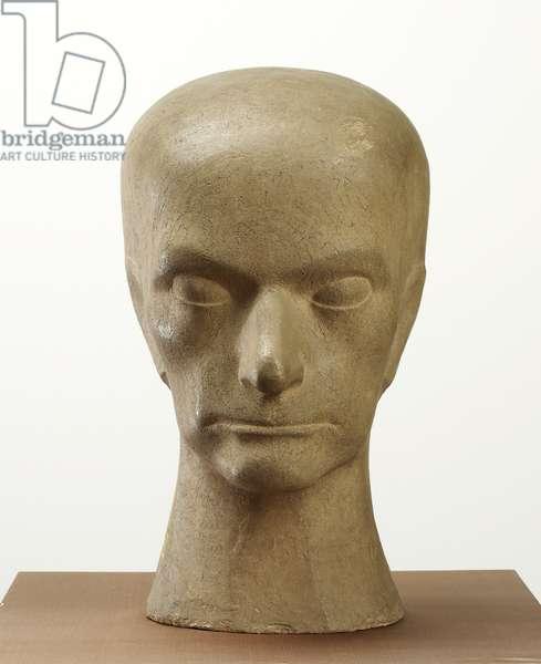 Head of Baudelaire, 1911 (terracotta)