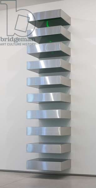 Untitled, 1968 (stainless steel, plexiglas)