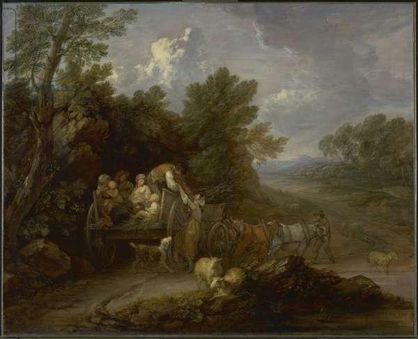 The Harvest Wagon, 1784-85 (oil on canvas)