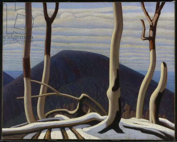 Above Lake Superior, c.1922 (oil on canvas)