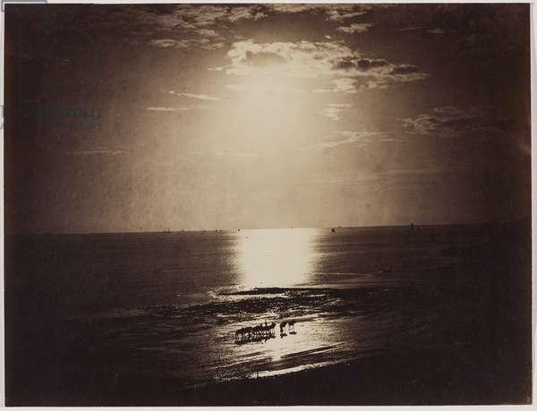 Le soleil couronné, Normandie, 1856-59 (albumen print from wet collodion negative)