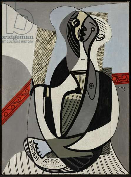 Seated Woman, 1927 (oil on canvas)