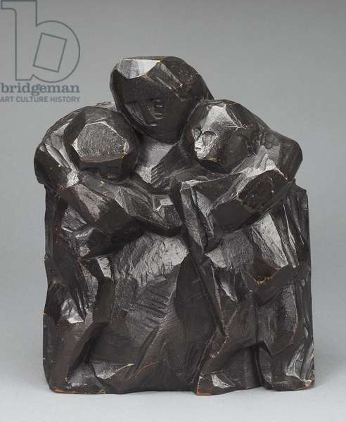 Group: Mother and Children, 1913 (wood)