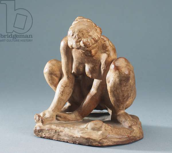 Woman with a Crab, c.1905 (plaster)