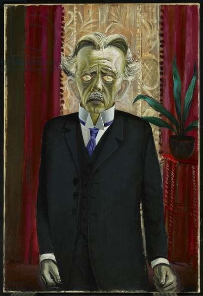 Portrait of Dr Heinrich Stadelmann, 1922 (oil on canvas)