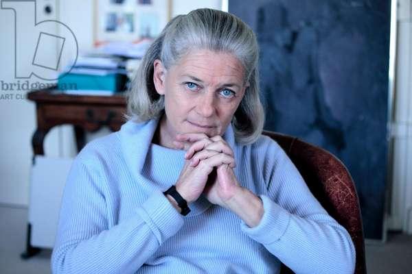 Portrait of Elisabeth Badinter (born Bleustein-Blanchet) (Bleustein Blanchet) 17/02/2009