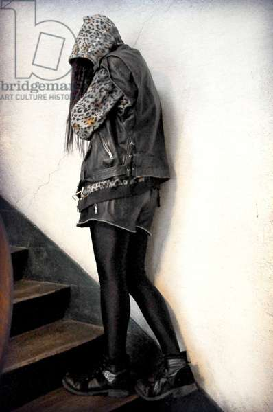 Portrait of the artist Princess Hijab. 2010.