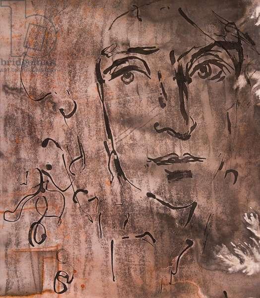Portrait de MOLIERE dessin par Ewa KLOS