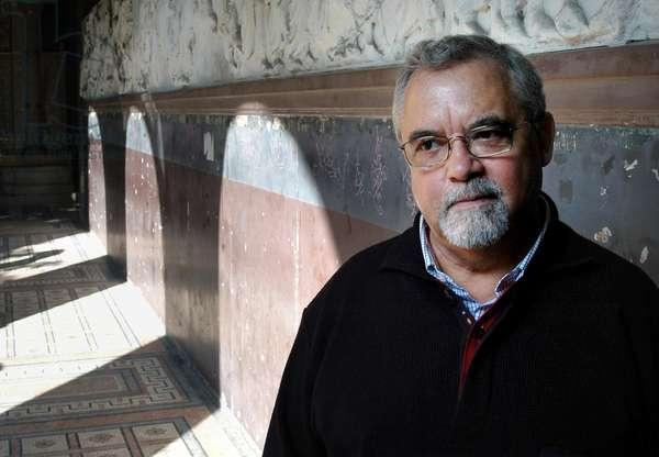 Portrait of Mario Claudio Portuguese writer in October 2006.