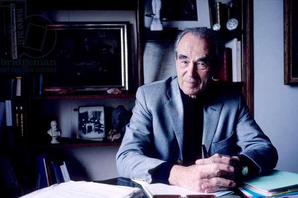 Portrait of Robert Badinter (lawyer) 2005