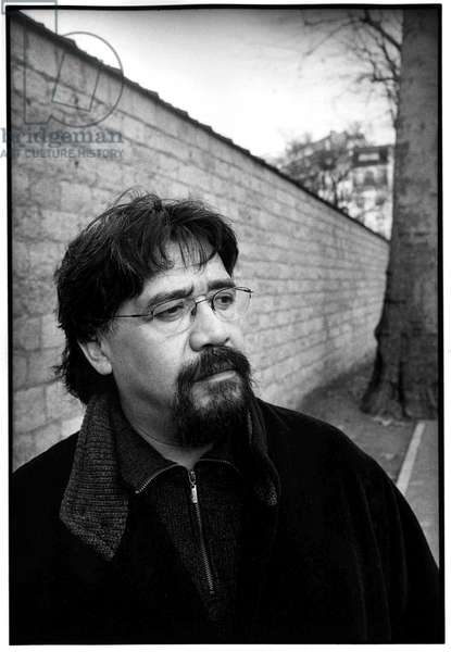 Portrait of Luis Sepulveda, Paris, 2001.