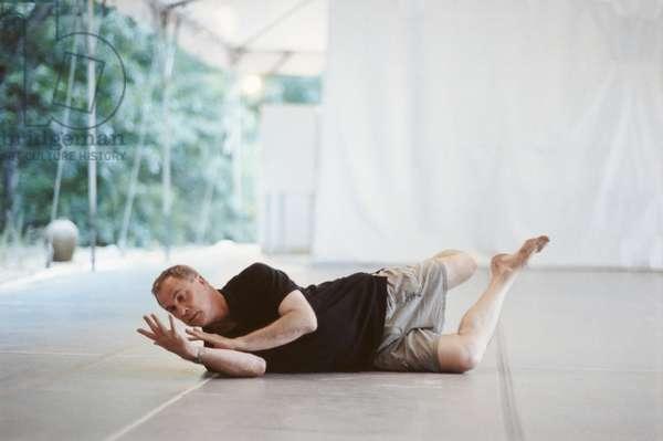 Portrait de Robert Wilson, artiste, Watermill Center, NY, USA, 1999