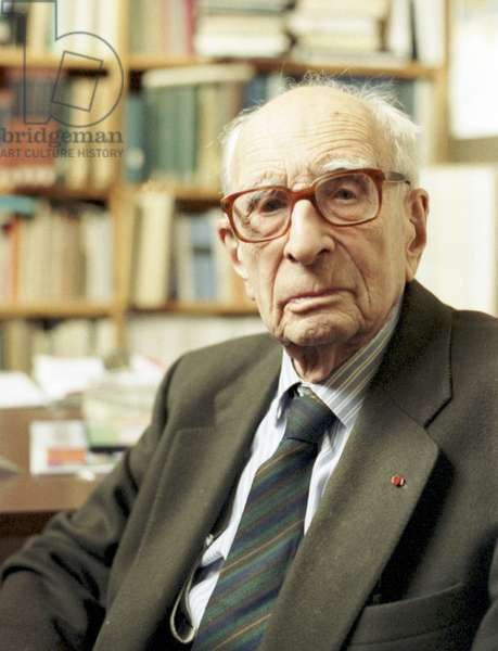 Portrait of Claude Levi-Strauss (Levi Strauss) - December 2004