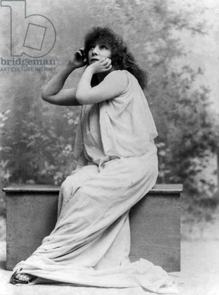 BERNHARDT Sarah d'apres A.DUPONT - Date: 18960101