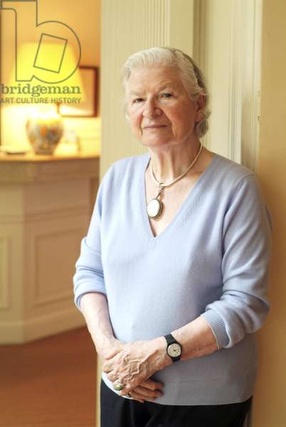 P. D. James (PD James) (P.D. James) (P D James) (born Phyllis Dorothy James) - Date: 20060510