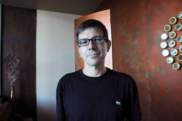 Portrait of Eduardo Berti Argentinian writer - 2012 -