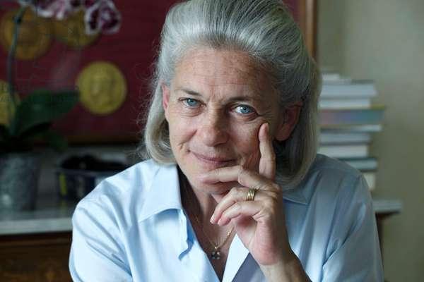 Portrait of Elisabeth Badinter (born Bleustein-Blanchet) (Bleustein Blanchet) 25/05/2010