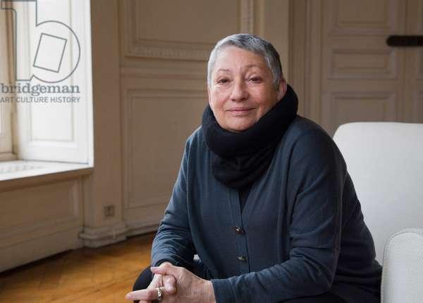 Portrait of Lyudmila Ulitskaya (Lioudmila Ievguenievna Oulitskaia) 05/02/2018