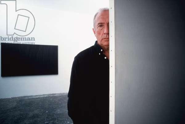 Portrait of Pierre Soulages (artist) 2002