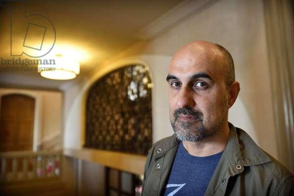 Portrait of Hari Kunzru - British novelist and journalist - 2018