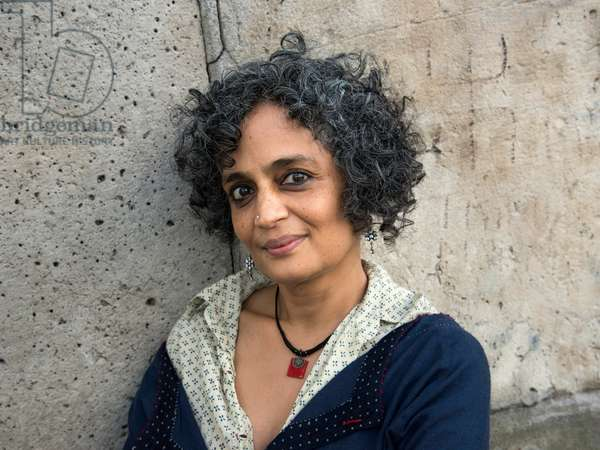 Portrait of Arundhati Roy 17/10/2016