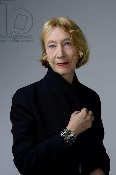 Portrait of Chantal Thomas (university lecturer) 12/04/2017