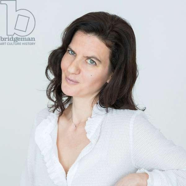 Portrait of Judith Sibony (theater critic, director) 06/04/2018