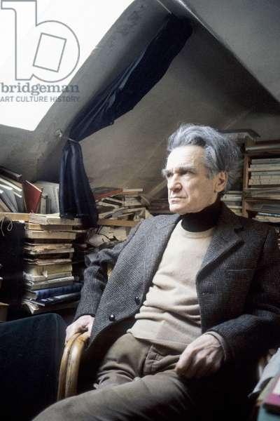 Portrait of Emil Cioran - 1982