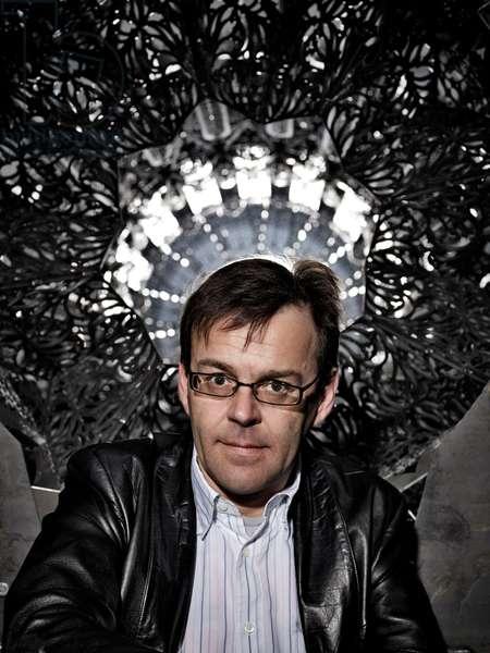 Portrait of Wim Delvoye (artist) - April 2009