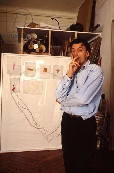 Portrait of Jean-Marc (Jean Marc) Bustamante (artist) - 1995