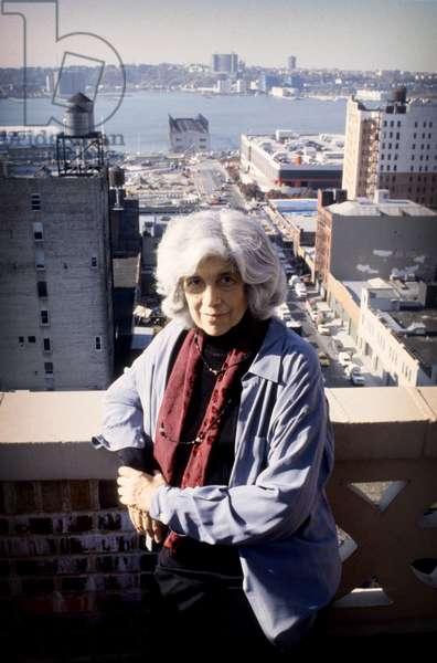 Portrait of Susan Sontag, New York, 1999 (photo)