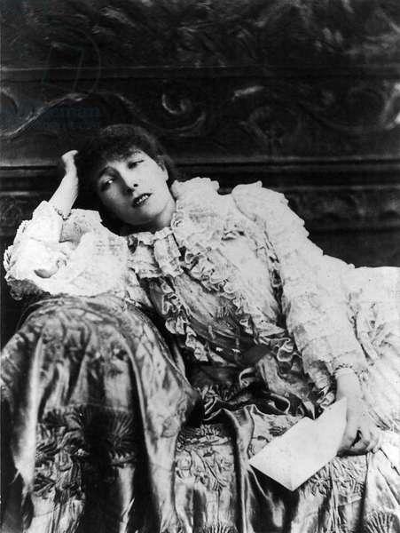 BERNHARDT Sarah d'apres N. SARONY - Date: 18800101