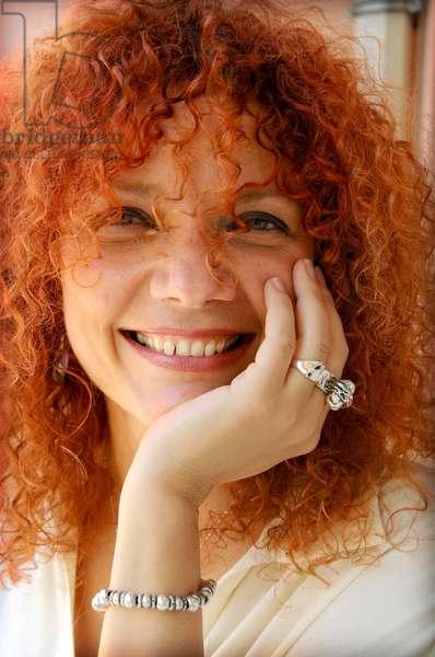 Portrait of Cuban writer Karla Suarez, July 2011.